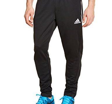 adidas Herren Trainingshose Sereno 14, schwarz/weiß, S, D82942