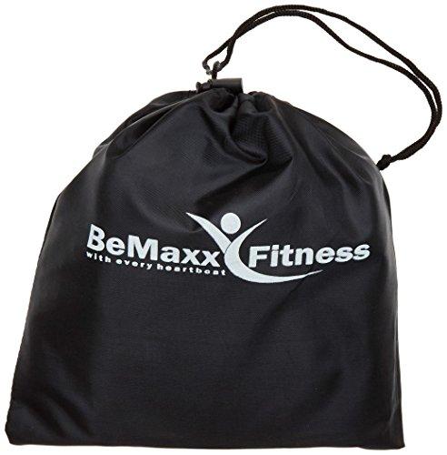 Resistance Bands Widerstandsband Set von BeMaxx Fitness + Trainingsguide – Pro Expander Bänder / Band Tubes Fitnessbänder – Widerstandsbandset: 5 Widerstandsbänder + Griffe, Türanker & Fußschlaufen