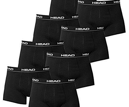 HEAD Men Boxershort 841001001-200 Basic Boxer 8er Pack black Size M