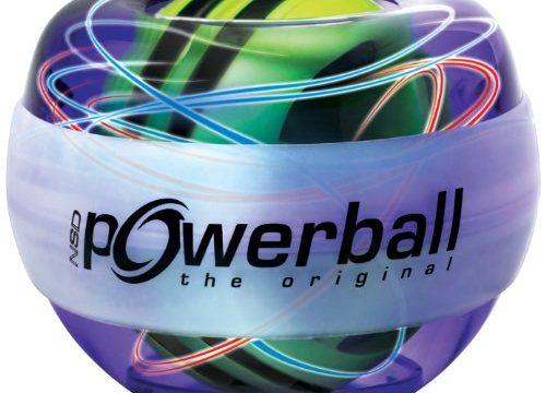 mit patentiertem Autostart, blau bluepurple, 069 – Kernpower Hand- und Armtrainer Powerball The Original Multi-light