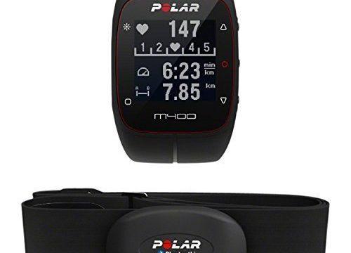 Polar M400 HR GPS-Laufuhr, schwarz, 90051341
