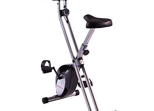Ultrasport Heimtrainer F-Bike mit Handpuls-Sensoren, klappbar