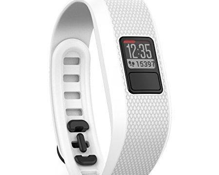 1 Jahr Batterielaufzeit, Tagesziele,Weiss – Garmin vívofit 3 Fitness-Tracker