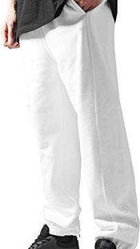 Urban Classics Herren Sporthose Sweatpants-Weiß ,XL
