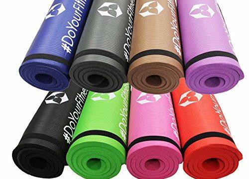 Fitnessmatte »Yamuna« / EXTRA-dick und weich, ideal für Pilates, Gymnastik und Yoga, Maße: 183 x 61 x 1,5cm, grau