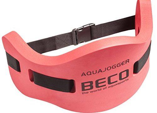 Gr. M – BECO Aqua Jogging Gürtel Runner Red Deluxe Edition – bis 100 kg