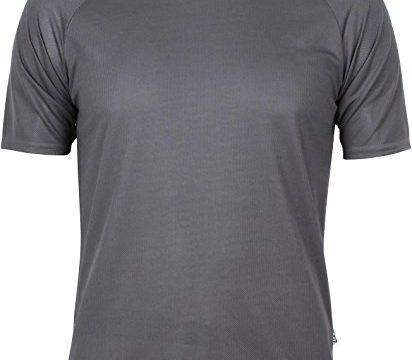 Sport T-Shirt in vielen Farben Farbe Anthrazit Größe M – Basic Funktions