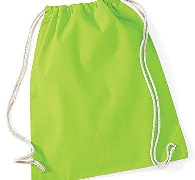 Westford Mill 110 Gym Sac Tasche, Lime, Einheitsgröße