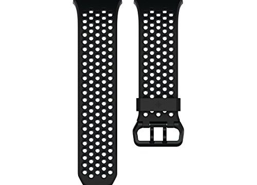 Fitbit Uni Ionic Sportarmband, Black, Large