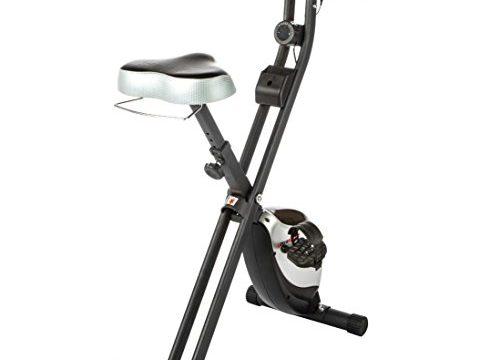 Ultrasport F-Bike Heavy mit Handpuls-Sensoren, Handyhalter und Handtuchablage, klappbar
