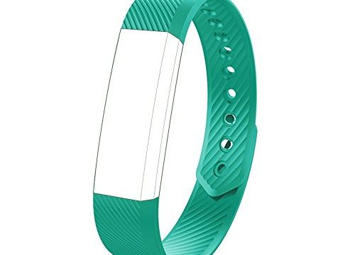 endubro Ersatzarmband für Fitness Tracker W33/ID115, 11TT YG3, Pushman YG3, Smarter YG3, Hembeer V1 und V2, ID115 und ID115HR, Lintelek Fitness Tracker ID115 Türkis