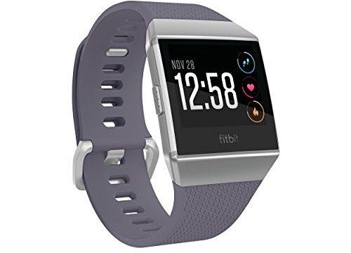 Fitbit Uni Ionic Health & Fitness Smartwatch, Blue, Onesize