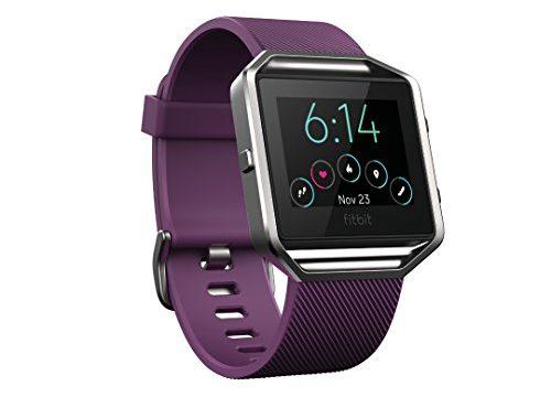 Fitbit Unisex Fitness Uhr Blaze, Pflaume, S