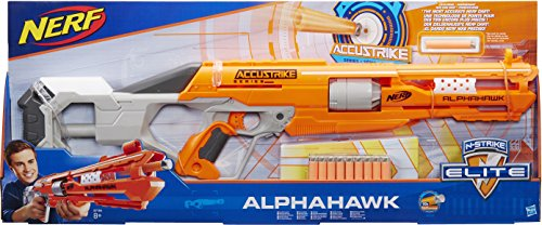 Nerf ACCUSTRIKE Alphahawk Spielzeugblaster – Hasbro B7784EU4