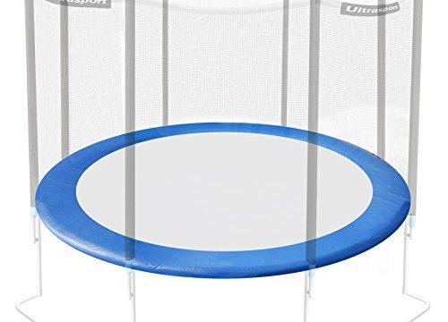 Ultrasport Randabdeckung für Gartentrampolin Jumper Modelle ab Mai 2014, Federabdeckung in der Farbe Blau, Trampolin Randschutz für Durchmesser 366 cm, Trampolinzubehör für mehr Sicherheit