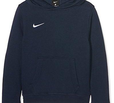 Nike Jungen Unisex Kapuzenpullover Team Club, Blau Obsidian/football White, S