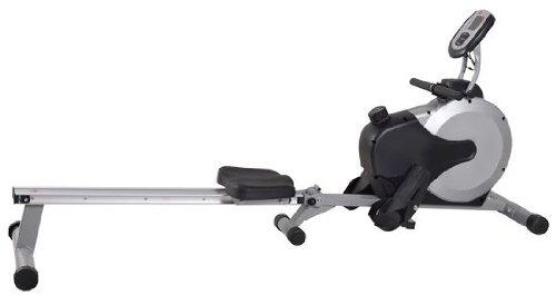 AsVIVA RA11 Rudergerät Ergometer Rower Cardio XI mit 8kg Schwungmasse, 8 manuellen Widerstandsstufen inkl. Multifunktionscomputer mit Pulsmessung für das Ausdauertraining zu Hause und klappbar