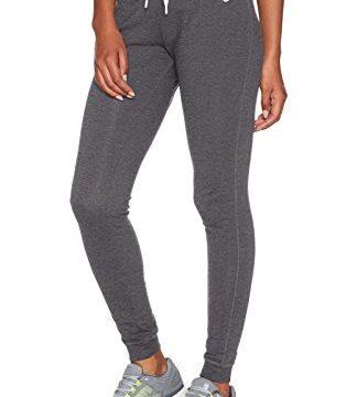 Nike Damen Hose Jersey Cuffed, grau/weiß, XL, 617330