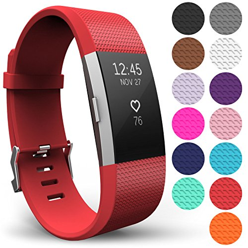 Yousave Accessories Fitbit Charge 2 Armband Ersatz Armband