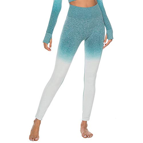 15fa79de1ccdc0 Plot Sporthose Damen High Waist Blinkdicht Sport Leggings Elastische Tummy  Control Yogahose Lange Laufhose