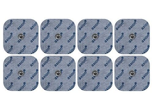 Elektroden / Pads, 8 Stück passend zu SEM 40, EM 40 / EM 41 / EM 80 – Druckknopf