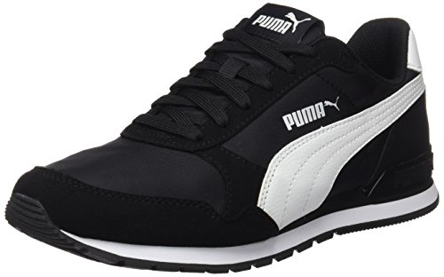Puma Unisex-Erwachsene St Runner V2 Nl Sneaker, Schwarz Puma Black-Puma White 1, 45 EU 10.5 UK