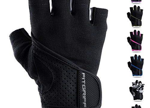Gym Gloves – Fitness Handschuhe ohne Handgelenkstütze für Krafttraining, Bodybuilding & Crossfit Training – Fitgriff Trainingshandschuhe für Damen und Herren