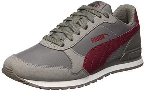Puma Unisex-Erwachsene St Runner V2 Nl Sneaker, Grau Charcoal Gray-Cordovan 15, 46 EU 11 UK