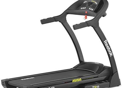 Reebok Laufband ZR8 Treadmill, Black/Yellow, RE1-11820BK