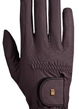 Roeckl Roeck Grip Handschuh, Unisex, Reithandschuh, Pflaume, Größe 7