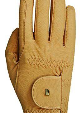 Roeckl Roeck Grip Handschuh, Unisex, Reithandschuh, Sämisch, Größe 10
