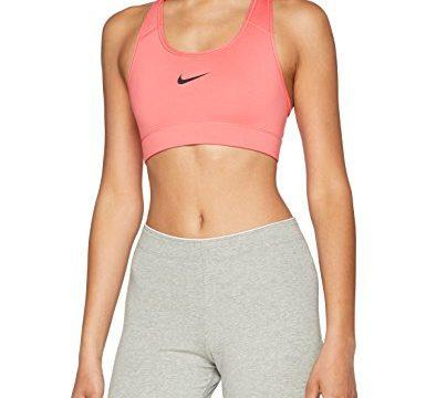 Nike Damen Victory Compression Sport BH, Sea Coral/Black, S