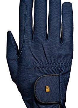 Roeckl Roeck Grip Handschuh, Unisex, Reithandschuh, Marine, Größe 8,5 …