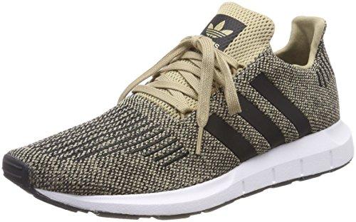 adidas Herren Swift Run Fitnessschuhe, Gelb Oronat/Negbas/Ftwbla 000, 42 EU