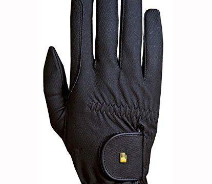 Roeckl Roeck Grip Handschuh, Unisex, Reithandschuh, Schwarz, Größe 6