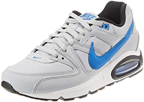 Nike Herren Air Max Command Sneakers, Mehrfarbig Wolf Grey/Signal Blue/Black/White 036, 41 EU