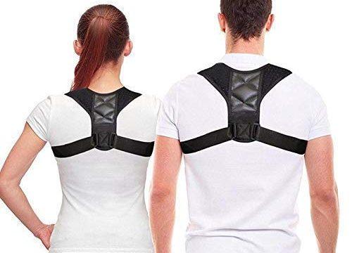 NewX Körperhaltung-Korrektor für Männer und Frauen-Effektiv komfortabel einstellbare Körperhaltung Korrekter Körper für die Unterstützung der Körperhaltung, Kyphose-Klammer, Rücken und Schulter
