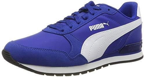 Puma Unisex-Erwachsene St Runner V2 Nl Fitnessschuhe, Blau Surf The Web-Puma White 14, 39 EU