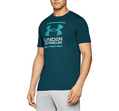 Under Armour Herren GL Foundation T-Shirt, Grün Batik/Dust 366, XL