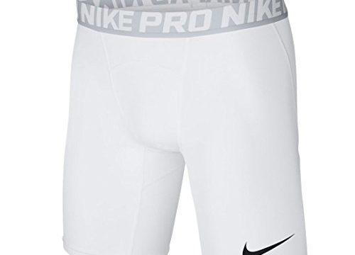 Nike Pro Cool Kompression Short für Herren, Größe:M;Farbe:weiss