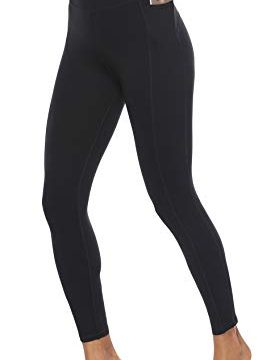 JOYSPELS Yoga Leggings Sport Leggins Damen Sporthose Schwarz M