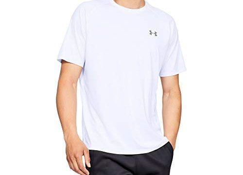 Under Armour Herren Tech 2.0 T-Shirt, atmungsaktives Sportshirt, kurzärmliges und schnelltrocknendes Trainingsshirt mit loser Passform
