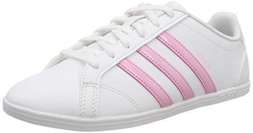 Adidas Damen Coneo QT Fitnessschuhe, Weiß Ftwr White/True Pink/Light Granite, 41 1/3 EU 7.5 UK