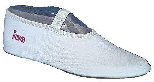IWA 250 Trampolin Schuhe Gymnastikschuhe Turnschläppchen: Größe: 31 | Farbe: weiß