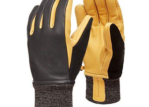 Black Diamond Unisex-Adult Dirt Bag Gloves Handschuh, Black, XS