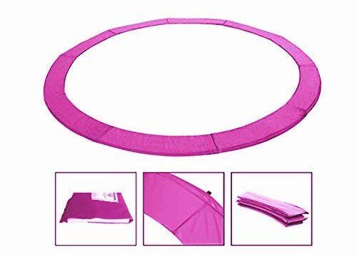 Andreas Dell Randabdeckung Federabdeckung Randschutz Schutz für Trampolin von 250 bis 460 cm Pink, 396