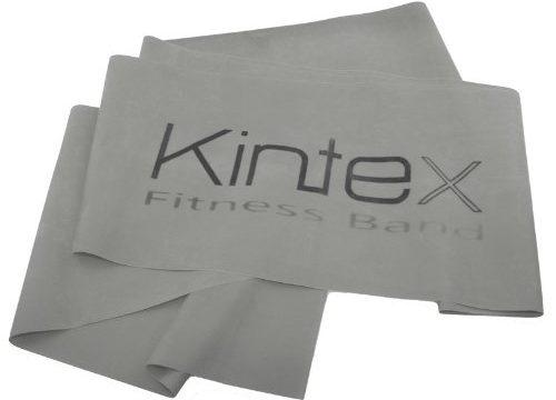 Kintex Gymnastikband Latexband 2.5m x 15cm Fitnessband, Silber super stark