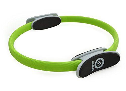 Zen Power Pilates Ring/Yoga Ring – Trainingsgerät für EIN effektives Kraft- und Widerstandstraining, Circle mit 38cm Durchmesser, Farbe: Grün
