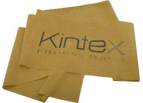 Kintex Gymnastikband Latexband 2.5m x 15cm Fitnessband, Gold max. stark