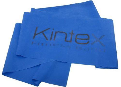 Kintex Gymnastikband Latexband 2.5m x 15cm Fitnessband, Blau extra stark